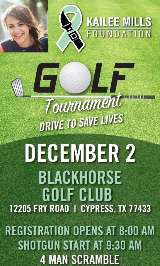 Kailee mills foundation golf tournament