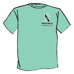Kailee Mills Foundation tshirt