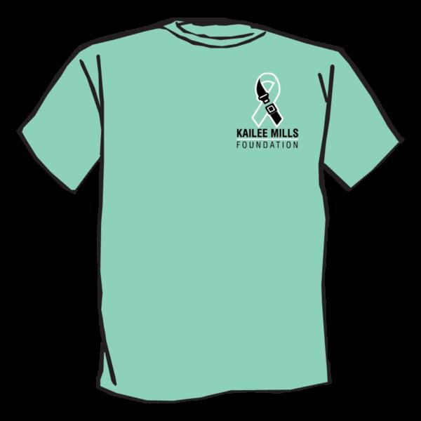 Kailee Mills Foundation tshirt