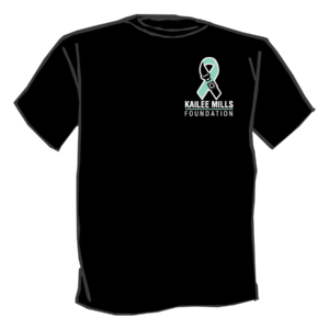 Kailee Mills foundation black tshirt