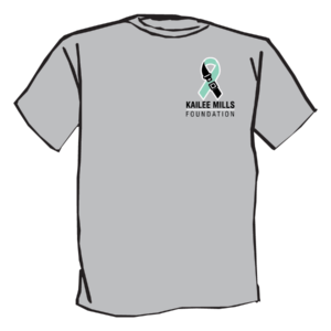 Kailee Mills foundation grey tshirt