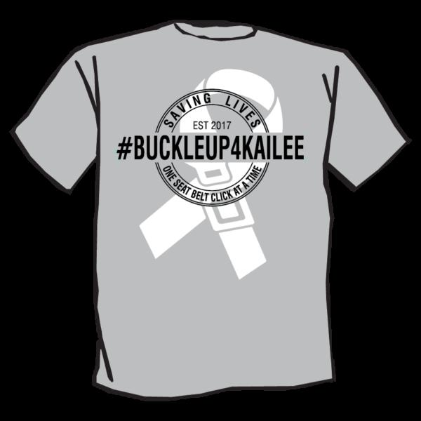 Kailee Mills foundation grey tshirt