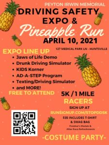 Peyton Irwin Memorial safety expo and 5k