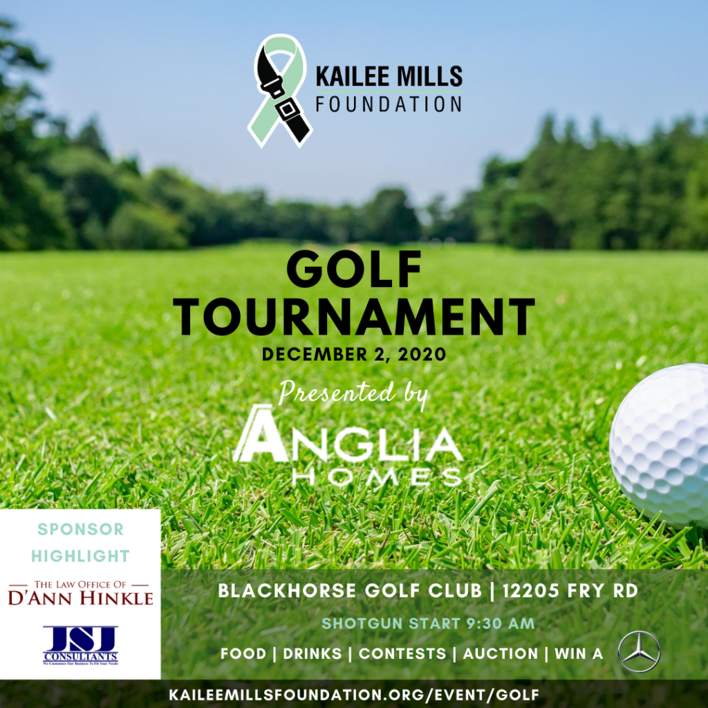 kailee mills foundation golf tournament